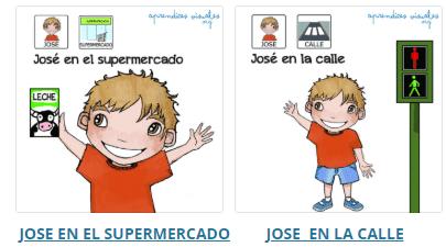 José aprende, cuentos para alumnos con TEA