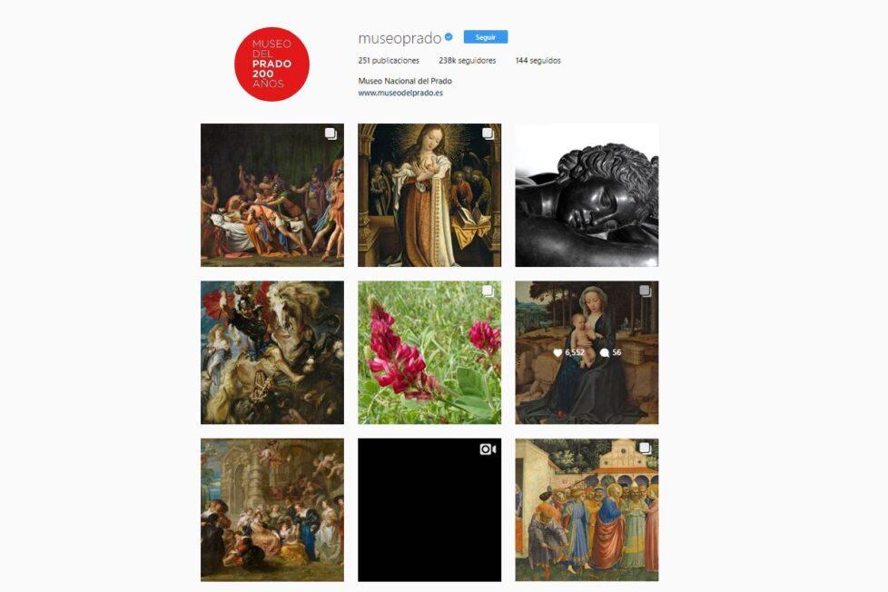 Instagram del museo del prado