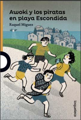 Awoki y los piratas en playa Escondida: día internacional del libro
