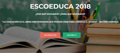 Ecoeduca- eventos educativos del mes de mayo