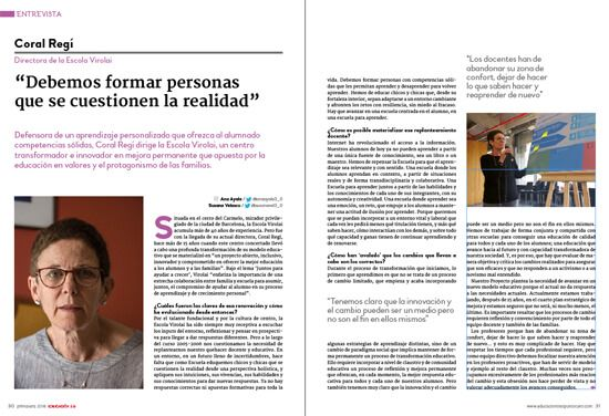 Nº 30 de la Revista EDUCACIÓN 3.0 impresa