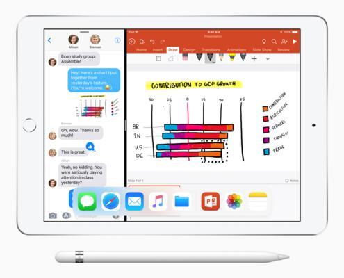iPad 9 7 inch split