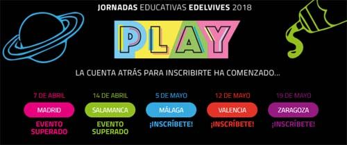 Jornadas educativas Edelvives 2018- eventos educativos del mes de mayo