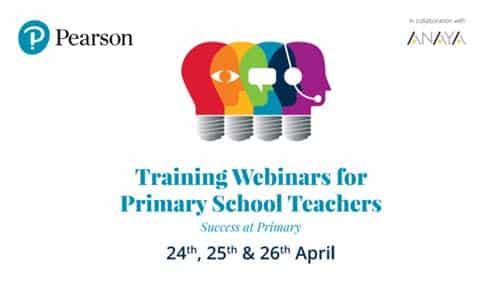 Pearson- Cursos y jornadas para mejorar tu formación docente