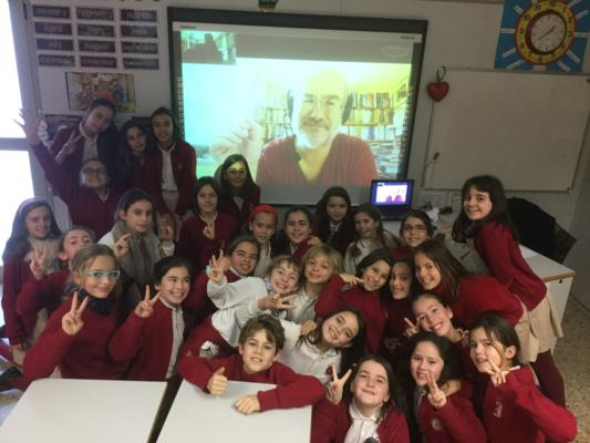 Skype in the classroom en clase de Inglés 2