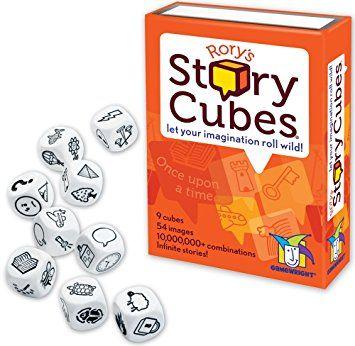 Rory's Story Cubes juegos para aprender ortografía