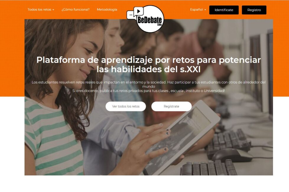 BeDebate Edu para trabajar el Aprendizaje Basado en Retos