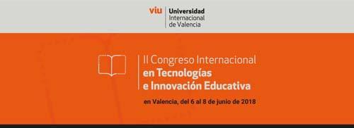 Congreso Internacional de Tecnologías UNIVERSIDAD DE VALENCIA