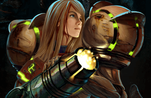 Samus Aran en Metroid, mujeres en los videojuegos