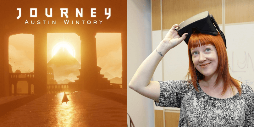 journey, mujeres en los videojuegos