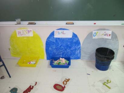 reciclaje en las aulas: Día Internacional del Reciclaje