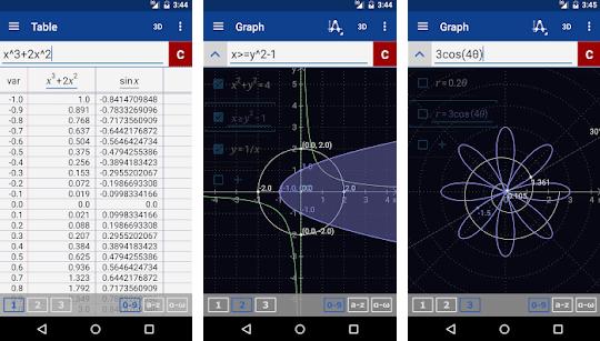 Calculadora gráfica Mathlab - Aplicaciones gratuitas de matemáticas