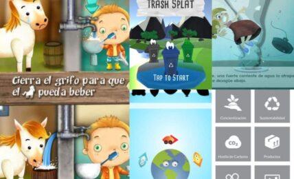 apps de educación ambientas