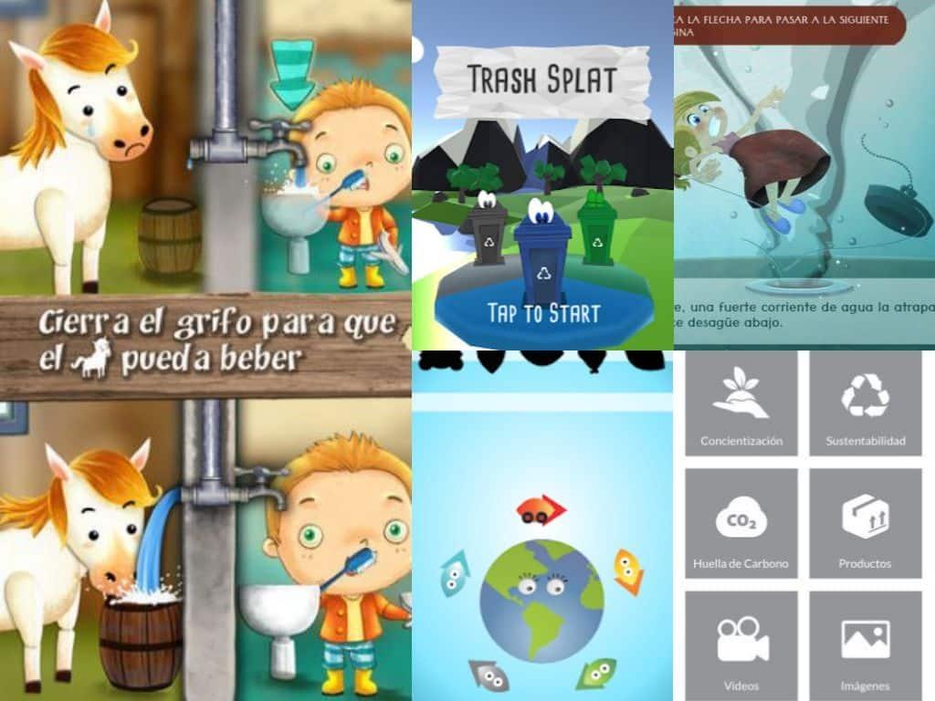 Collage-apps-medioambiente