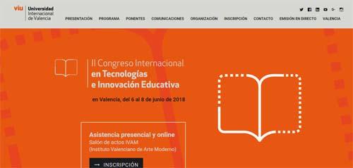 II Congreso Internacional de Tecnologías e Innovación Educativa- eventos educativos del mes de junio