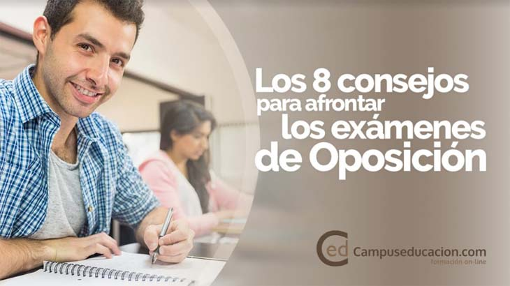 Los 8 consejos para afrontar los exámenes de oposición, según Campuseducación.com