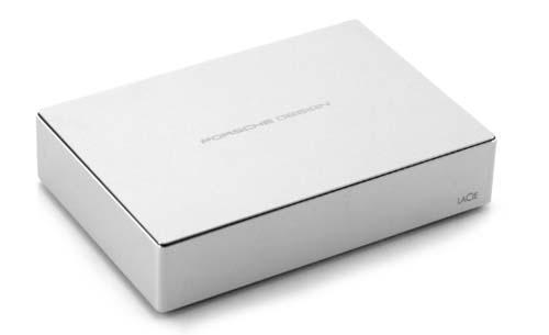 LaCie Porsche Design Desktop Drive, seguridad en el aula