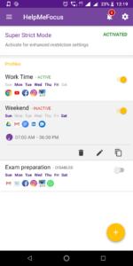 Help Me Focus está dentro de las apps para estudiar sin distracciones