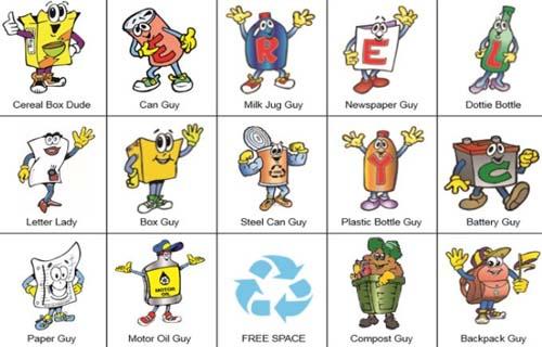 Juegos con motivo del Día Internacional de Reciclaje