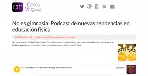 recuros educación física podcast