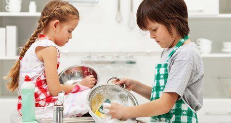 Igualdad en las tareas del hogar