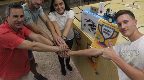 RIMER puesto categoría Senior: SalesianasAlicanteRobot4