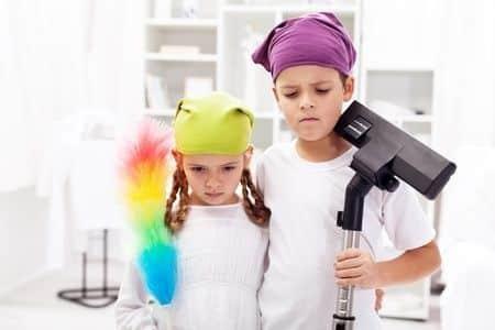 ayudar en las tareas del hogar