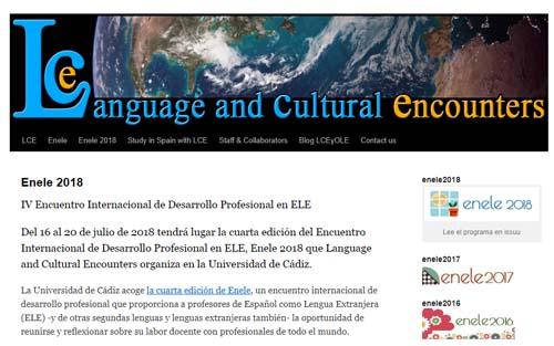 Enele 2018: IV Encuentro Internacional de Desarrollo Profesional en ELE