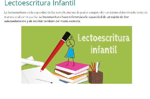 Fichas de lectoescritura creativas