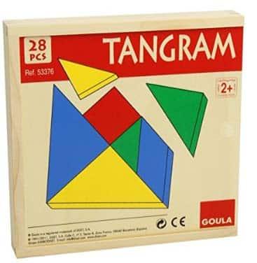 juegos de mesa de lógica Goula Tangram