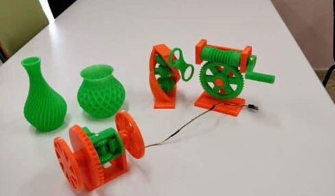 impresión 3D y competencias curriculares