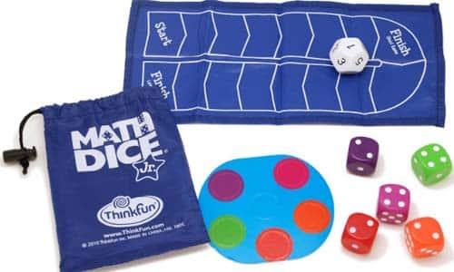 Math Dice Jr juegos de mesa para de matemáticas