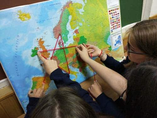 Mapas para un escape room en inglés