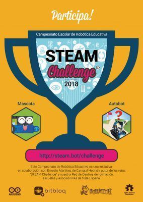 Cartel Campeonato Steam Challenge 2018