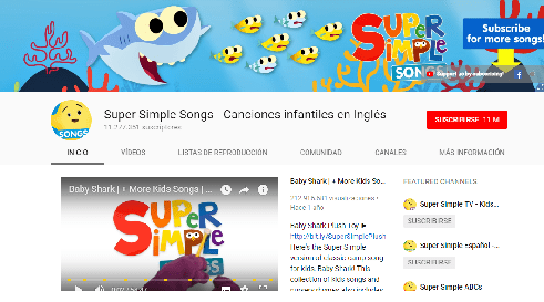 Canal de YouTube er Single Songs