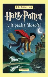 portada libro Harry Potter
