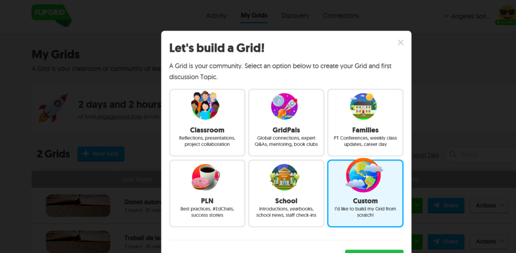 booktubers CON FLIPGRID