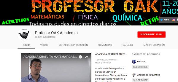 Pofesor OAK Academia