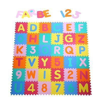 Yorbay Alfombra puzle para niños