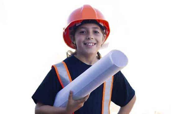 Niño arquitecto