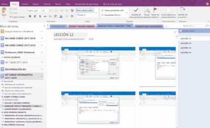 Clases de Informática con Office 365