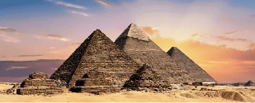 Pirámide de Giza en realidad virtual