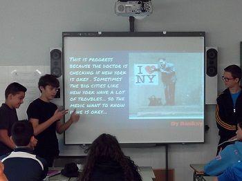 Progress experiencias innovadoras en clase de Inglés