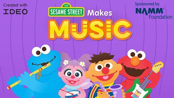 Sesame Street Makes Music