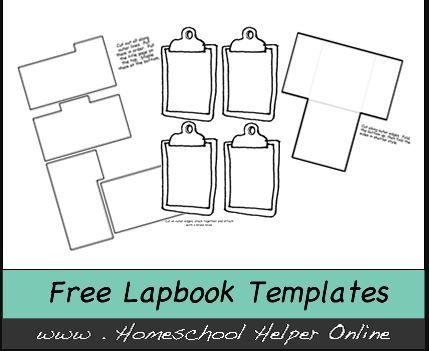 Homeschool Helper lapbook