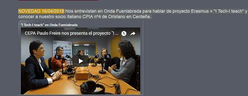 escuelas más innovadoras: CEPA Paula Freire