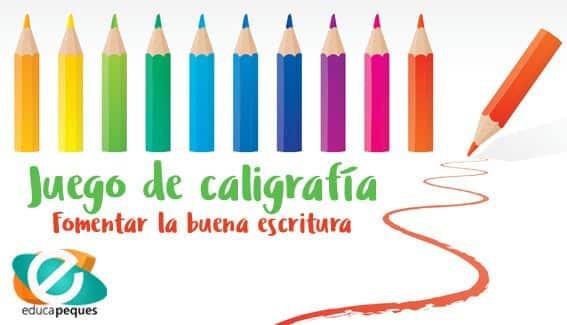 Taller de caligrafía Educa Peques