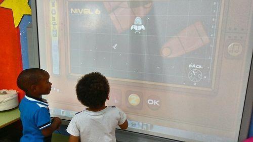 El lobo matías en el espacio- aprendizaje colaborativo y programación en Infantil.