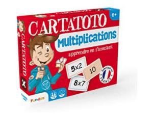 Cartatoto: juegos de mesa y tablas de multiplicar