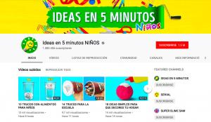 Manualidades para infantil y primaria con vídeos de Youtube